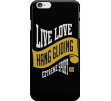 Hang Gliding Extreme Sport iPhone Case/Skin