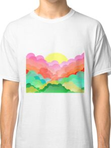 Colorful clouds  Classic T-Shirt