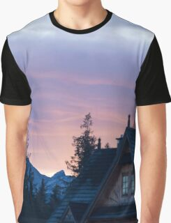 Light from behind the Mountain - Travel Photography Graphic T-Shirt