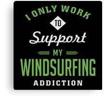 Windsurfing Extreme Sport T-shirt Canvas Print