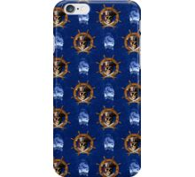 Pirate Skull And Ship Wheel iPhone Case/Skin