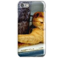 Striking the Right Pose  iPhone Case/Skin