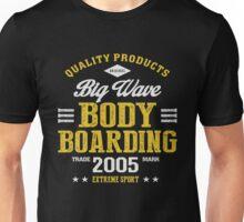 Bodyboarding Extreme Sport  Unisex T-Shirt