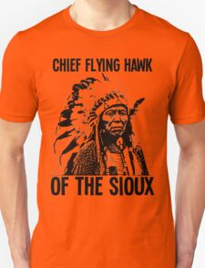 Chief Flying Hawk (of The Sioux) T-Shirt