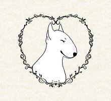 Love Bull Terrier - Black & White Pullover
