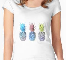 Many pineapples Women's Fitted Scoop T-Shirt