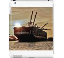 the Container ship #2 iPad Case/Skin