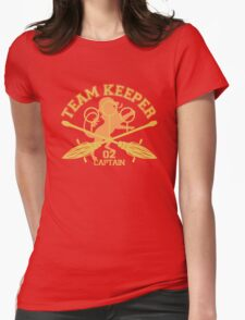 Gryffindor- Quidditch - Team Keeper Womens Fitted T-Shirt