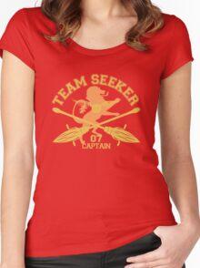 Gryffindor- Quidditch - Team Seeker Women's Fitted Scoop T-Shirt