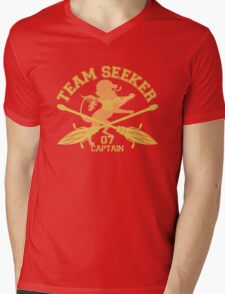 Gryffindor- Quidditch - Team Seeker Mens V-Neck T-Shirt