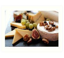 Cheese Feast - Macro Photography Art Print