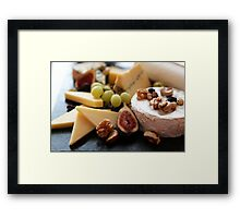 Cheese Feast - Macro Photography Framed Print