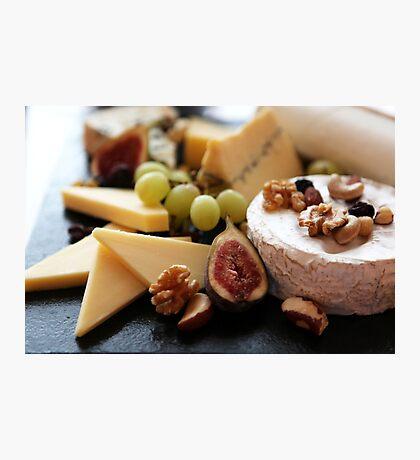 Cheese Feast - Macro Photography Photographic Print
