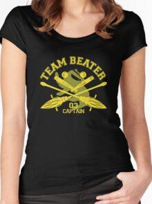 Hufflepuff - Quidditch - Team Beater Women's Fitted Scoop T-Shirt