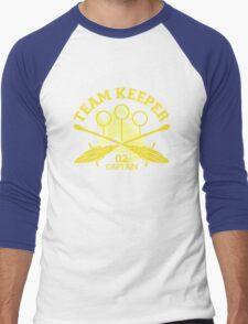 Hufflepuff - Quidditch - Team Keeper Men's Baseball ¾ T-Shirt