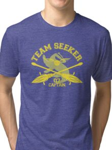 Hufflepuff - Quidditch - Team Seeker Tri-blend T-Shirt