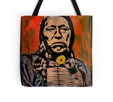 Chief Flying Hawk-The Sioux Tote Bag