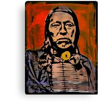 Chief Flying Hawk-The Sioux Canvas Print