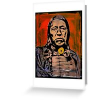 Chief Flying Hawk-The Sioux Greeting Card