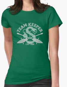 Slytherin - Quidditch - Team Keeper Womens Fitted T-Shirt
