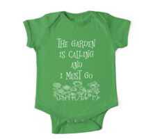 The Garden Is Calling And I Must Go T Shirt One Piece - Short Sleeve