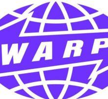 Warp Records Sticker