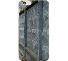 dreary road along the prison wall iPhone Case/Skin