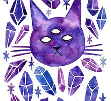 Cat & Gems by Jazmine Phillips