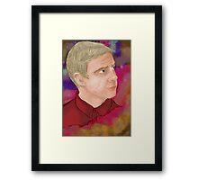 John Watson [Nebula] Framed Print