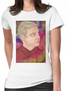 John Watson [Nebula] Womens Fitted T-Shirt