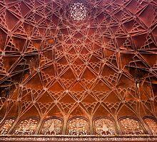 Taj Mahal Art by Walter Quirtmair