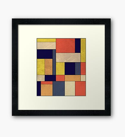 Abstract #350 Framed Print