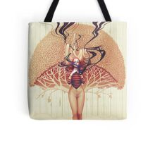 Thoughts-Words-Split-Dust Tote Bag