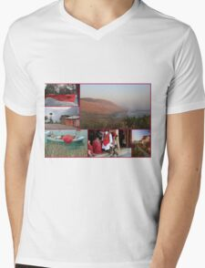 Collage/Postcard from Albania - Travel Photography Mens V-Neck T-Shirt