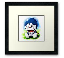 Doraemon Character Framed Print