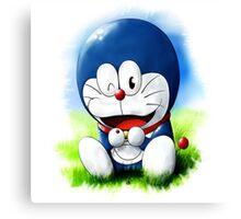 Doraemon Character Canvas Print