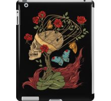 skull, snake, butterflies and flowers iPad Case/Skin