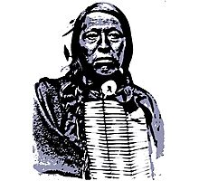 Chief Flying Hawk-The Sioux 2 Photographic Print