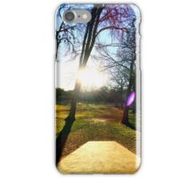 Sunset Between the Trees iPhone Case/Skin