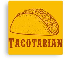 taco cool Canvas Print