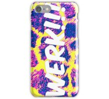 WERK iPhone Case/Skin