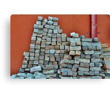 Brick by Brick Canvas Print