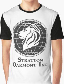 Stratton Oakmont T-Shirt Wolf of Wall Street Tshirt Jordan Belfort Ludes T Shirt Movie Cult Gift Martin Scorsese Him Her Logo Stock Market Graphic T-Shirt