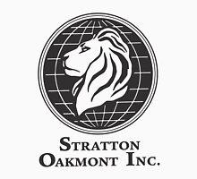 Stratton Oakmont T-Shirt Wolf of Wall Street Tshirt Jordan Belfort Ludes T Shirt Movie Cult Gift Martin Scorsese Him Her Logo Stock Market Unisex T-Shirt