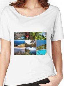 Collage from Portugal (Madeira) - Travel Photography Women's Relaxed Fit T-Shirt