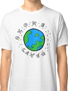 Earth's Ozone Layer Drawing Classic T-Shirt