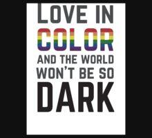 Love in Color Kids Tee