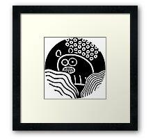 Ugly Bear /Marek/ Framed Print