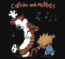 Calvin & Hobbes Dance One Piece - Short Sleeve