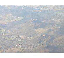 Puy de Dôme, from plane Photographic Print
